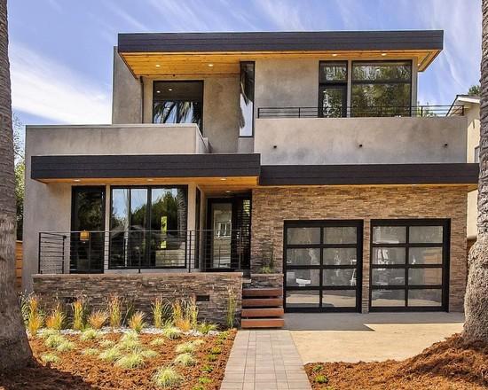 Residential garage door repair lake forest best garage door modern burlingame residence exterior design glass garage door planetlyrics Images
